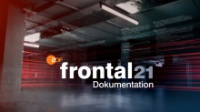 "Foto:  obs/ZDF/Corporate Design Logo ""Frontal 21-Dokumentation"
