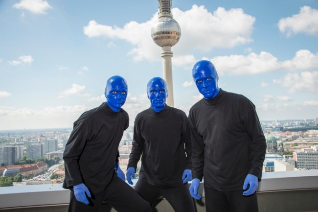 "Foto:  obs/Stage Entertainment Berlin/Harald Fuhr / eventpress Die ""Blue Man Group Berlin"