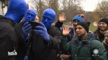 "Foto:  obs/El Cartel Media EL CARTEL MEDIA und Stage Entertainment lassen BLUE MAN GROUP in ""Berlin - Tag & Nacht"