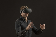 Ericsson zeigt mobiles Gaming mit 5G-Virtual-Reality-Brille (FOTO)